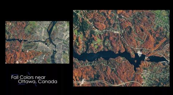 Kvapą gniaužiantys vaizdai: NASA pasidalino 2020 m. geriausiomis iš TKS darytomis nuotraukomis