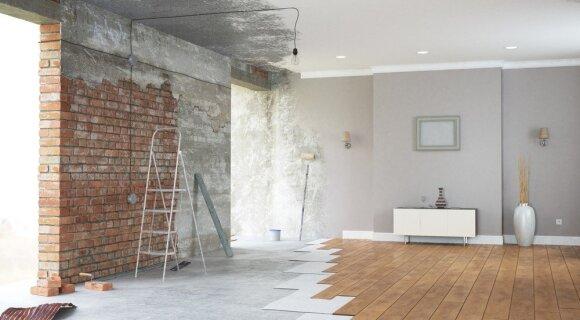 Ar pirkti būstą su daline apdaila: ekspertas įvardijo svarbiausią ir brangiausią darbą