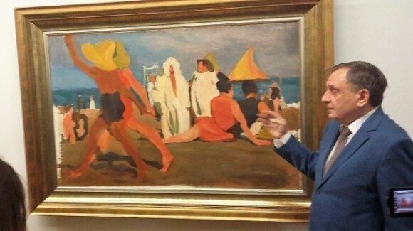 В Вильнюс привезли картину Бакста за миллион