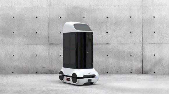 Lietuviai kuria dezinfekcinį robotą
