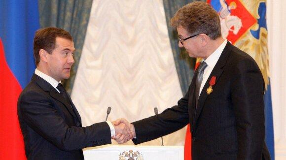 D. Medvedevas ir I. Kostolevskis