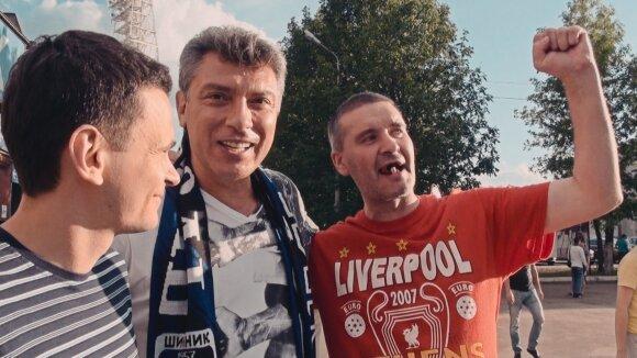 """Kadras iš filmo """"Mano draugas Borisas Nemcovas"""""""