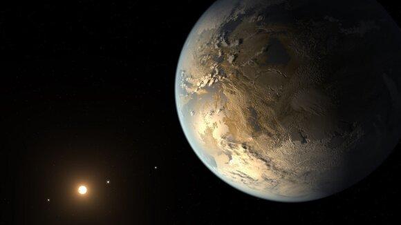 Kepler-186f – pirmoji atrasta panašaus į Žemės dydžio egzoplaneta, skriejanti gyvybės zonoje. Keturios kitos šios sistemos planetos yra taip pat uolingos, bet būdamos daug arčiau žvaigždės yra per karštos skystam vandeniui egzistuoti