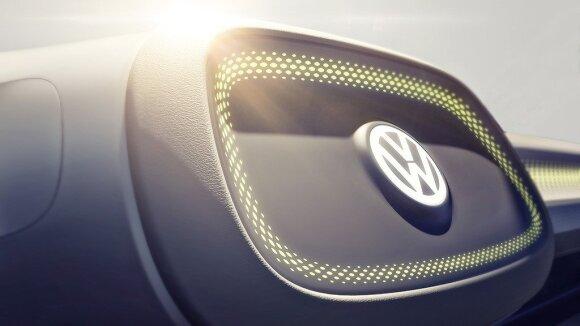 """""""Volkswagen I.D."""" koncepcijos užuominos"""