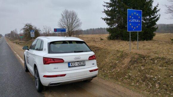 """Kelionė į Latviją su """"Audi Q5"""""""