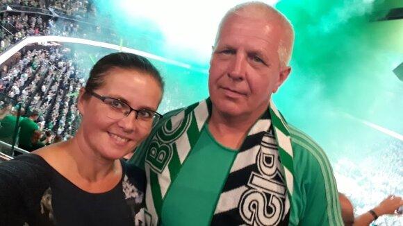 Vytautas Misevičius su žmona