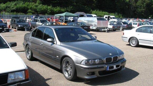 """""""BMW E39"""" – Slyva. Nakhon100/Flickr nuotr."""
