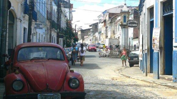 Mano atrasta Brazilija - Kapueiros ritmu