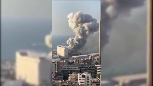 Katastrofa Beirute: žuvusiųjų skaičius išaugo iki 100, aiškėja nelaimės priežastys