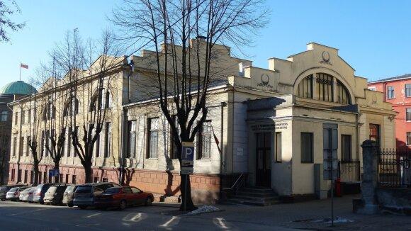 Pastatas Kaune, kuriame 1920 m. įkurta telegramų agentūra ELTA