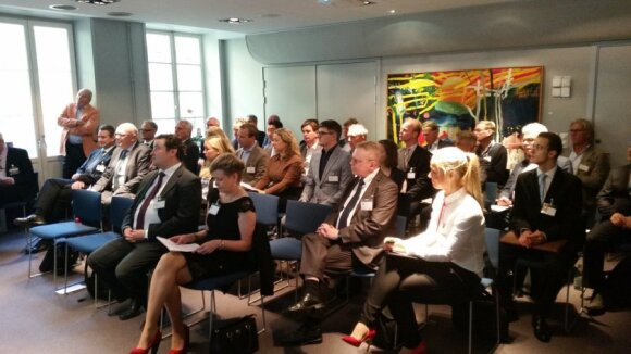 Lithuanian start-ups at the Seed Forum seminar
