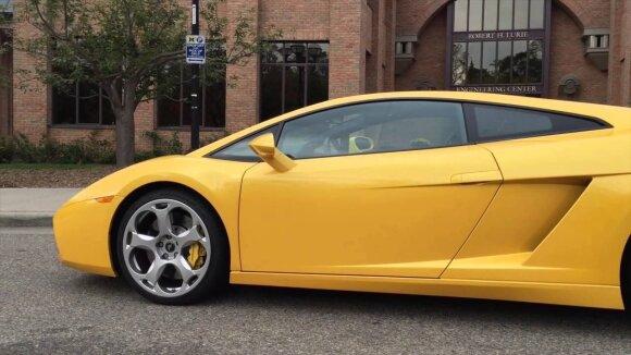 """Parkerio Nirensteino """"Lamborghini Gallardo"""""""
