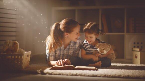 Skaitymas su vaiku