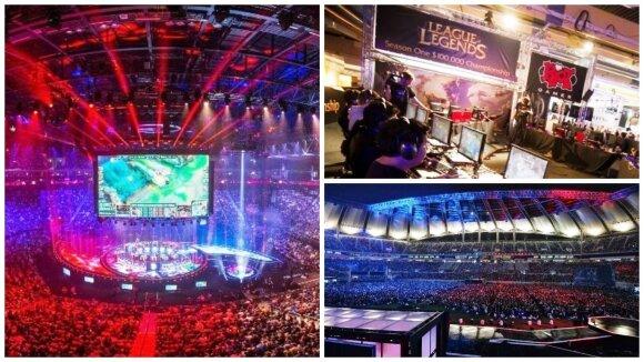 eSporto varžybos įvariose pasaulio šalyse (Game Show nuotr.)