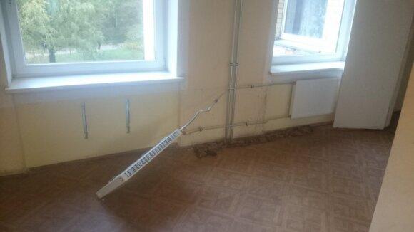 Vaikinas pasipiktino studentų elgesiu bendrabutyje: va, kodėl nėra šildymo