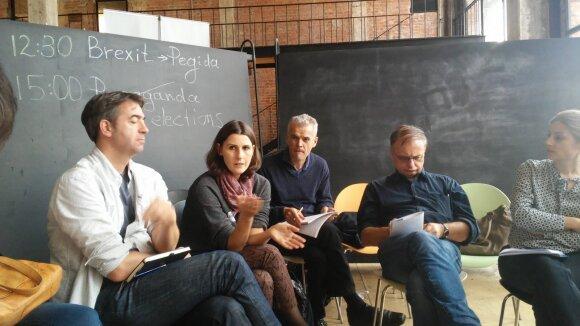 The International Crisis Group ekspertė Jekaterina Sokirianskaja