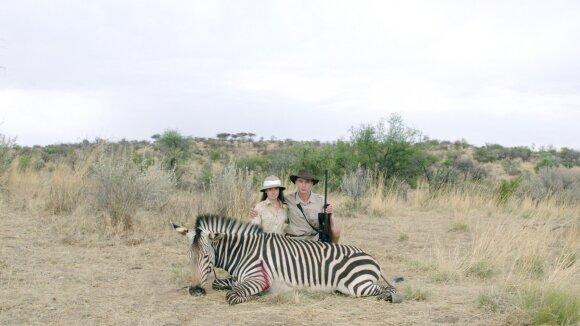 """Kadras iš filmo """"Safaris"""""""