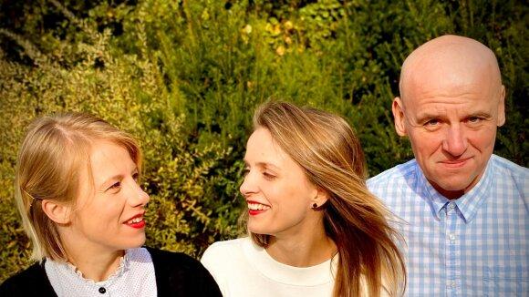 """""""Šaltinių trio"""" (Grupės archyvo nuotr.)"""