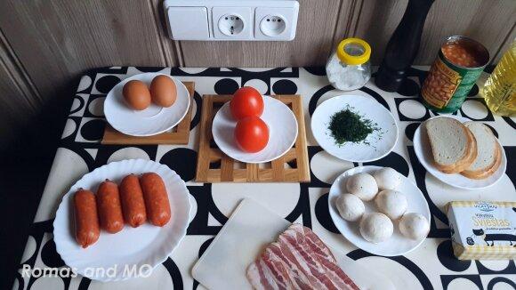 Močiutės angliški pusryčiai