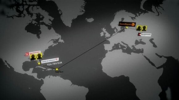 """""""Swedbank"""" padėjo apeiti sankcijas Rusijai – Kalašnikovo gamyklai pervedė milijonus / SVT nuotr."""