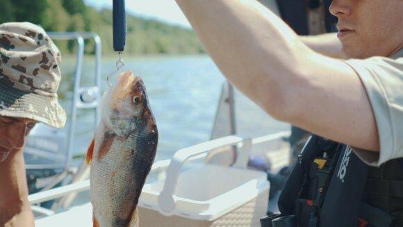 Žvejų megėjų reidas Kauno mariose