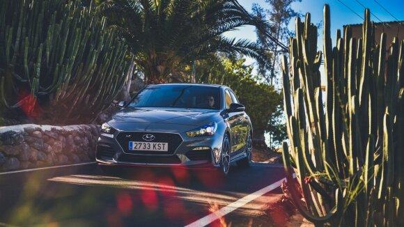 "Naujo ""Hyundai i30 N Fastback"" testas"
