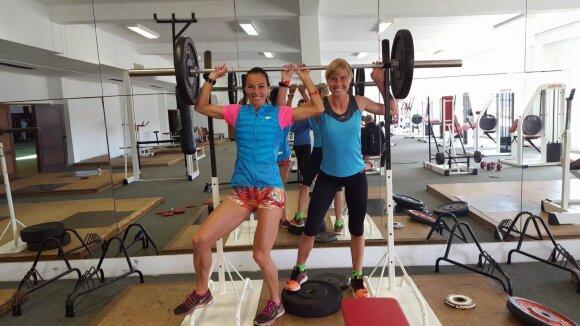 Olimpietė R. Drazdauskaitė: per dieną nubėgu apie 25-30 kilometrų