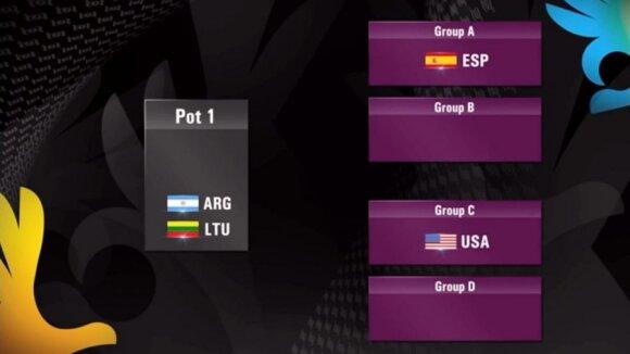 Barselonoje ištraukti FIBA pasaulio čempionato grupių varžybų burtai