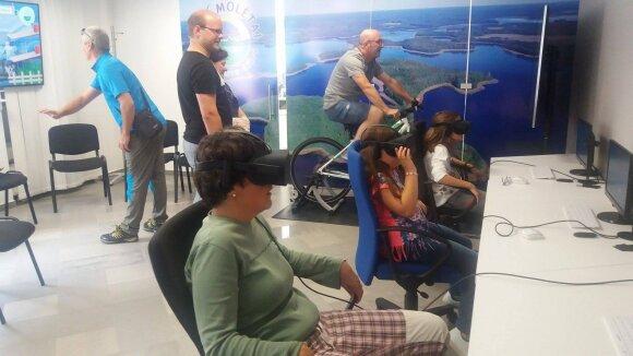 Kelionė laiku jau įmanoma: virtualios kelionės metu pamatysite, kaip atrodė Molėtai prieš 3 tūkstančius metų