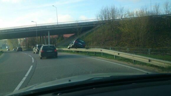 Vairuotoją nustebino išskirtinis vaizdas Kauno gatvėje