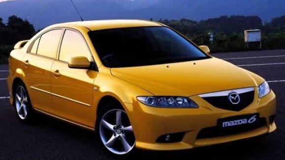 """2002 m. """"Mazda6"""""""