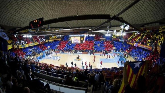 Palau Blaugrana arenos vidus
