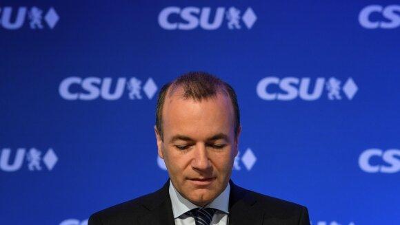 Manfredas Weberis, EPP frakcijos lyderis