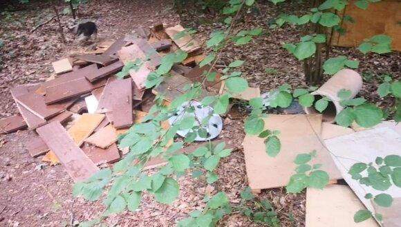 Miško šiukšlintojų atliekos