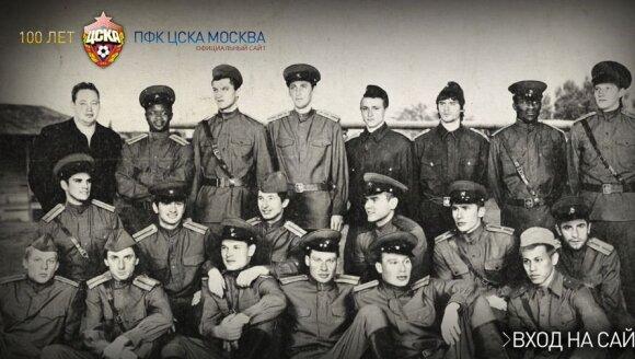 CSKA futbolininkų fotosesija (pfc-cska.com nuotr.)