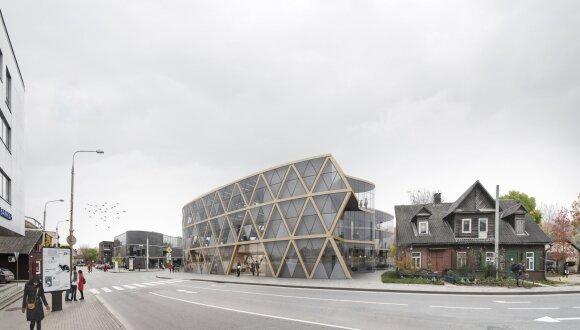Architektūros konkurso Žvėryne II vieta