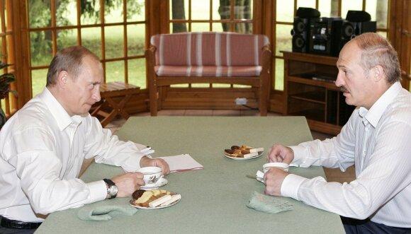 Vladimiras Putinas, Aliaksandras Lukašenka 2005 metais