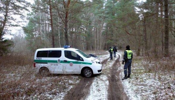 Ukmergės r. miške rastas negyvas emigrantas, šventėms grįžęs iš Škotijos