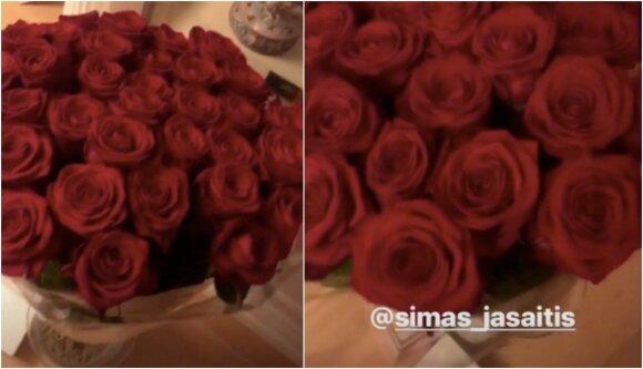 Simo Jasaičio gėlės žmonai