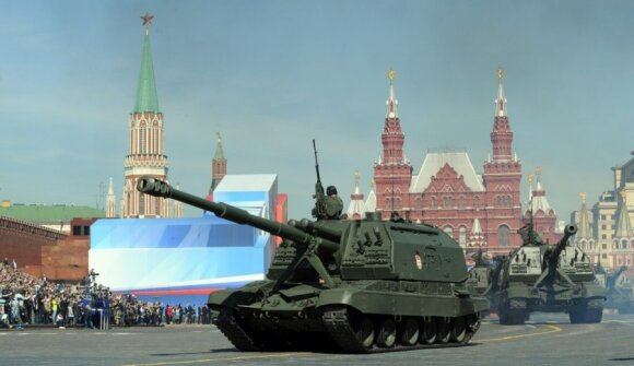 Victory Day is a big thing in Moscow