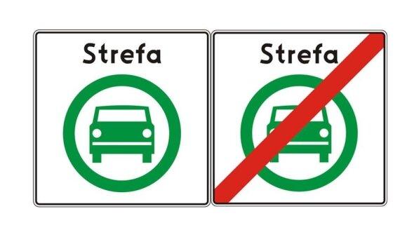 Новые дорожные знаки в Польше