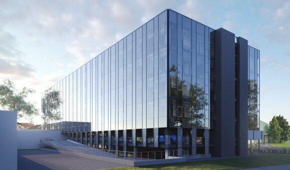 Šnipiškėse pradedamos dviejų naujų verslo centrų statybos