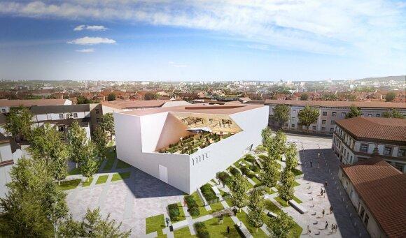 Весной в Литве планируют снос бывшего кинотеатра Lietuva
