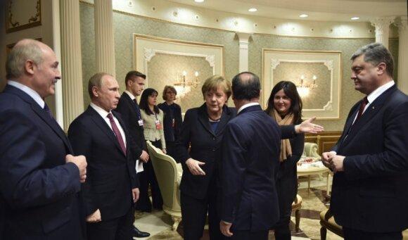 """""""Марафонские"""" переговоры в Минске завершились"""