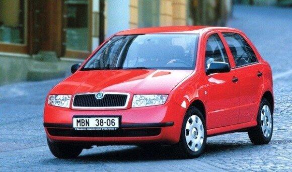 """2003 m. """"Škoda Fabia"""""""