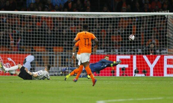 Amsterdame – dramatiška Vokietijos rinktinės pergalė prieš olandus