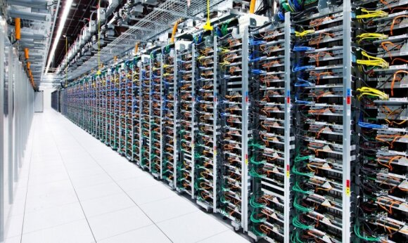"""""""Google"""" duomenų centras"""