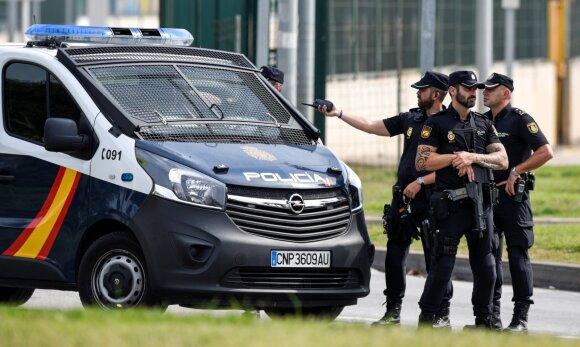 Ispanijos policija
