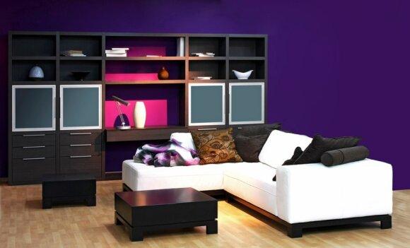 Lašelis violetinės pagyvins namų interjerą