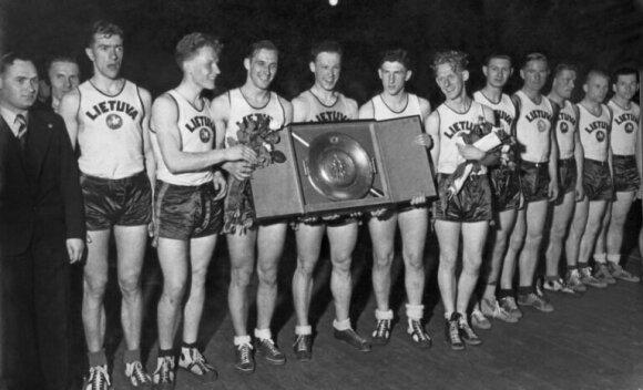 1939 metų Europos čempionė - Lietuvos krepšinio rinktinė